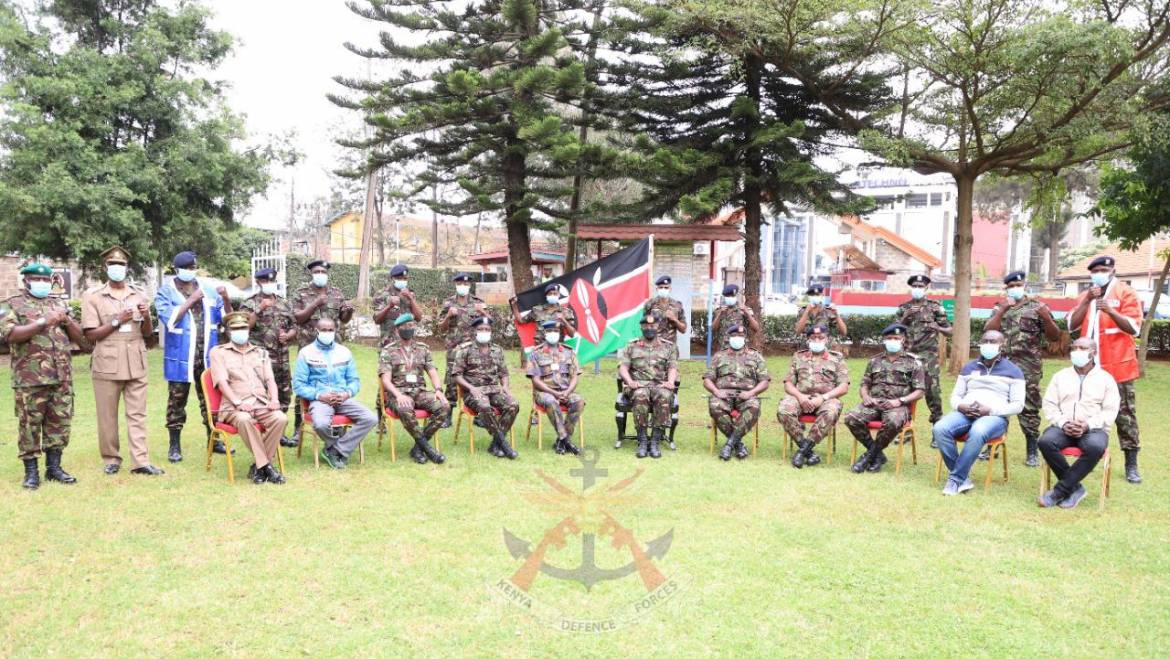 NATIONAL FLAG HANDOVER TO THE 58th WORLD MILITARY BOXING CHAMPIONSHIP.