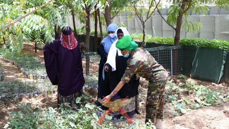 KDF TROOPS UNDER AMISOM IMPACT AGRIBUSINESS SKILLS TO SOMALIA WOMEN GROUPS