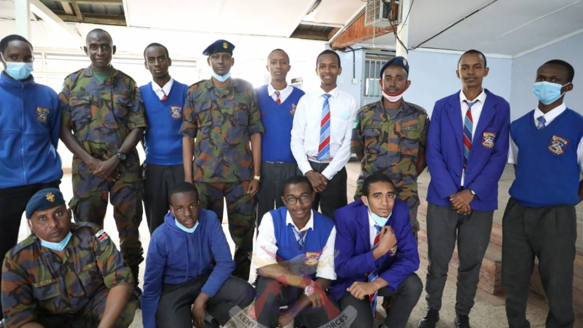 KDF MUSLIM CHAPLAINCY HOLDS SPIRITUAL NOURISHMENT SESSION AT MOI FORCES ACADEMY.