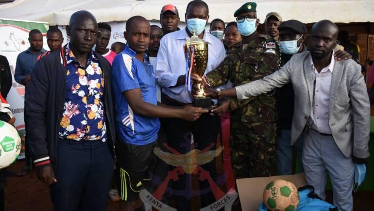 DEFENCE HEADQUARTERS MARKS INTERNATIONAL DAY OF PEACE IN KAWANGWARE,NAIROBI