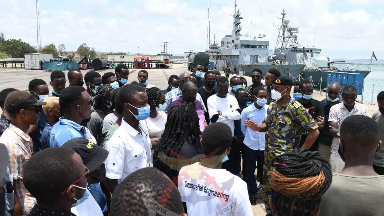 UNIVERSITY OF NAIROBI STUDENTS VISIT THE KENYA NAVY