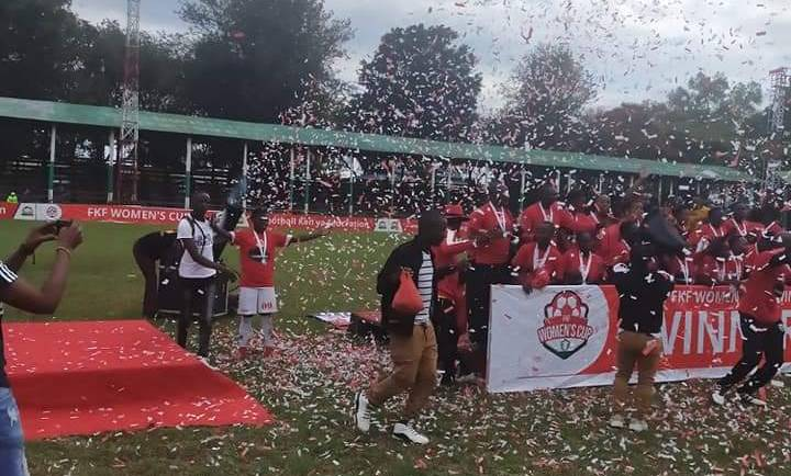 ULINZI STARLETS FC WON THE INAUGURAL FKF WOMEN CUP TOURNAMENT