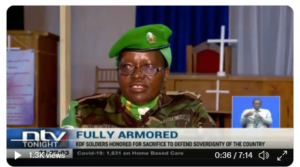 FULLY ARMOURED: NTV FEATURE