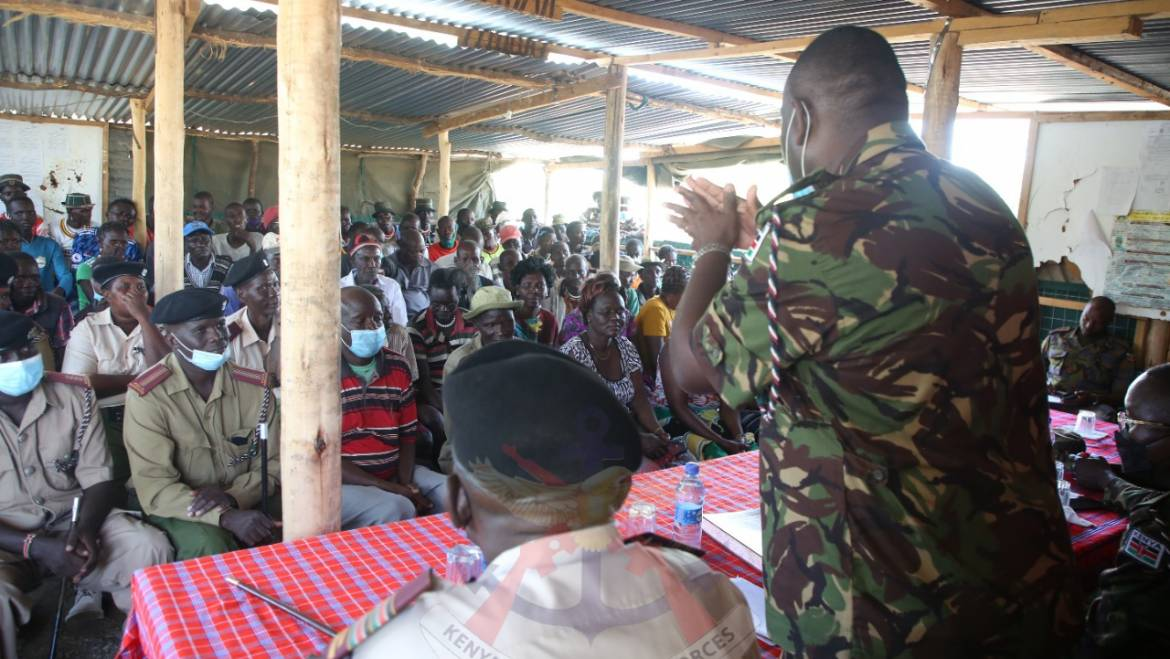 GOVERNMENT CONTINUES WITH PROJECTS IN BARINGO AND LAIKIPIA COUNTIES TO ENHANCE SECURITY