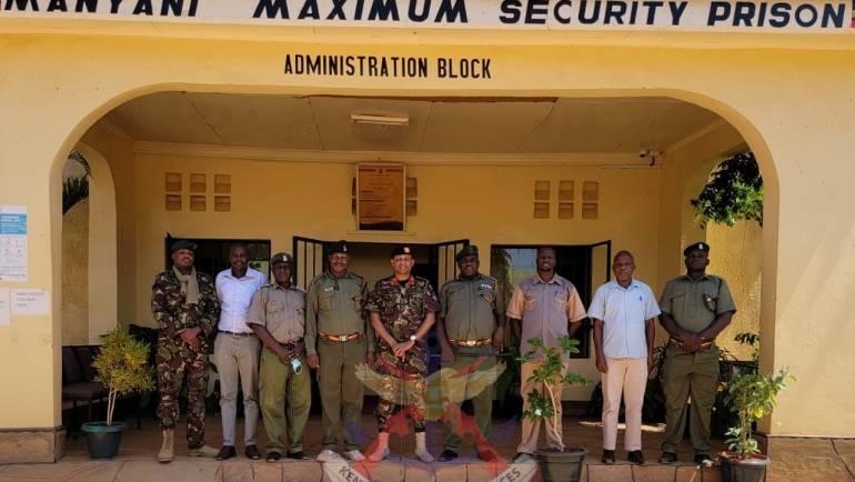 KDF AND NTCT COUNTER VIOLENT EXTREMISM TRAINING TO MANYANI MAXIMUM PRISON STAFF