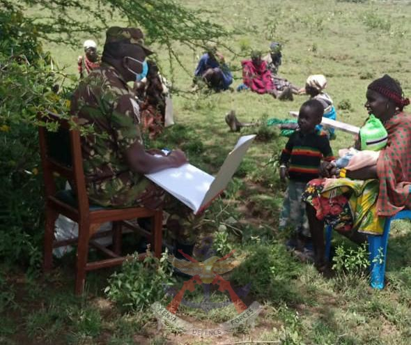 MULTI-AGENCY SECURITY TEAMS VISIT LOCALS AT NGOISUSU AND OFFER MEDICAL AID AT NAGUM IN LAIKIPIA