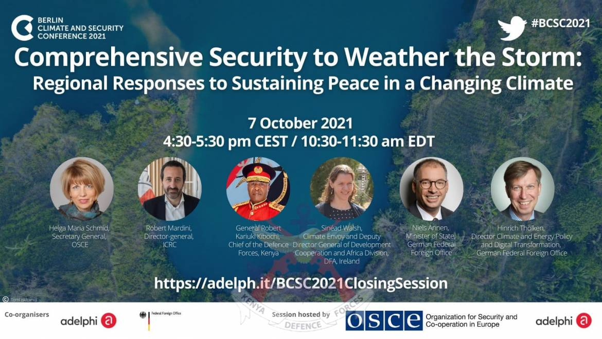 BERLIN CLIMATE AND SECURITY CONFERENCE