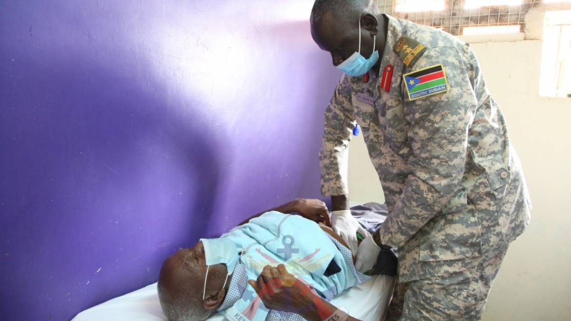 EAC ARMED FORCES' FREE MEDICAL CAMP IN MATUU