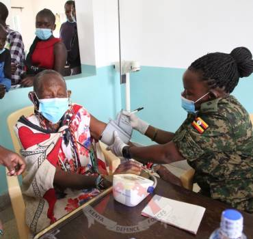 DAY 4 OF THE EAC ARMED FORCES' CIMIC WEEK