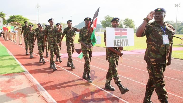 KDF PARTICIPATES IN OSMA GAMES IN NIGERIA