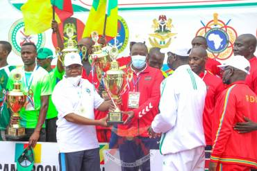 KDF BAGS SILVER AND BRONZE IN OSMA GAMES IN NIGERIA