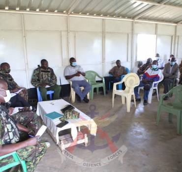 MULTI AGENCY PEACE CAMPAIGN GAINS MOMENTUM IN LAIKIPA WEST